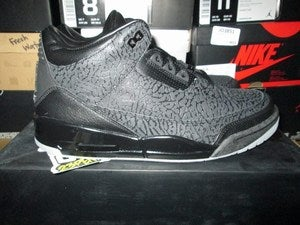 "Image of Air Jordan III (3) Retro ""Black Flips"""