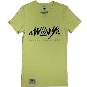 Image of Yellow Wavy Tee