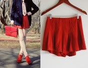 Image of red shorts S
