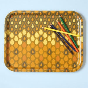 Image of Limited Edition Vintage Yellow Heals Fabric Tray
