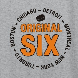 Image of Original Six hockey shirt