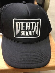 Image of Death Squad Patch Trucker Hat