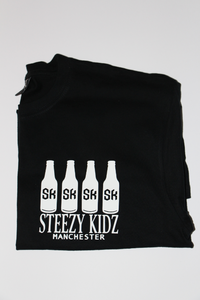 Image of Steezy Kidz 'Alcohol Bottle' Tee Black