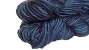 Image of Midnight Blue Pacem Serico Lana Yarn
