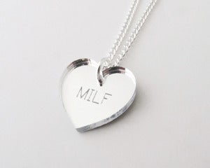 Image of MILF Necklace - Silver