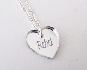 Image of Rebel Necklace - Silver