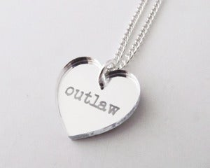 Image of Outlaw Necklace - Silver