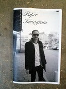 Image of paper instagram zine by Sam Milianta