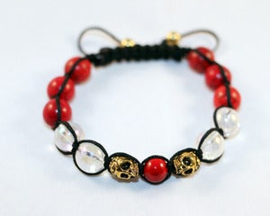 Image of Skull Red Howlite Ver. 2