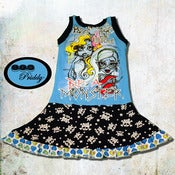 Image of **SOLD OUT** Monster High Be Yourself Be Unique Tank twirl Dress - size 7/8 *For ANGELA*