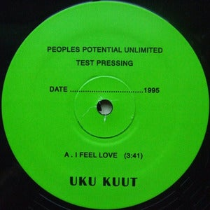 "Image of Uku Kuut - I Feel Love - 12"" (PEOPLES POTENTIAL UNLIMITED)"