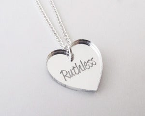 Image of Ruthless Necklace - Silver