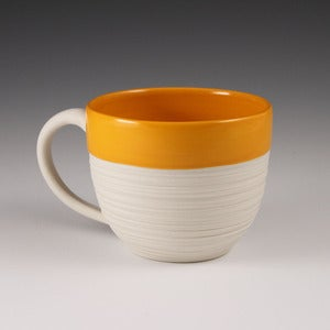Image of Groove Mug in Orange
