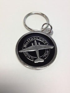 Image of Buffalo Metal/Enamel Keychain