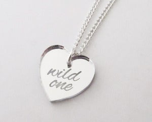 Image of Wild One Necklace - Silver