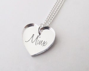 Image of Minx Necklace - Silver