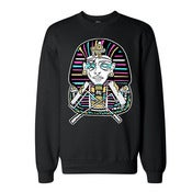 Image of PHARAOH Black Crew Neck Sweater