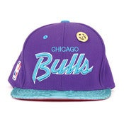 "Image of JUST ★ DON | M&N Chicago Bulls ""Grape"""