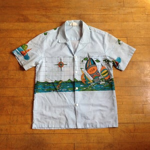 Sailboat Hawaiian Shirt