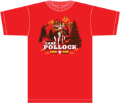 Image of 2013 Pollock Boy Scout Camp - Tee Shirt - with No Sleeve Print