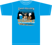 "Image of 2013 Cub Adventure Camp ""The Odyssey"" FLSR LAAC - Tee Shirt - with No Sleeve Print"
