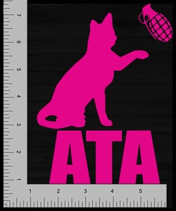 Image of Accessory | Catastrophe 1.0 | Large Vinyl Decal | Pink