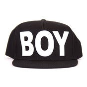 Image of BOY LONDON | Black/White BOY Snapback