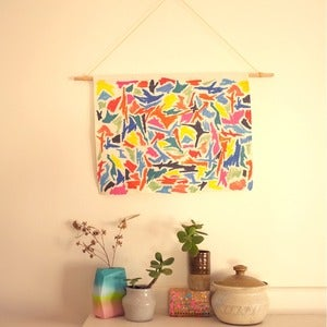 Image of Scribble Wall Hanging