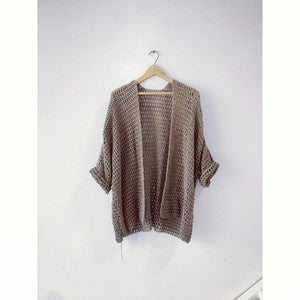 Image of Crochet Jacket | Clay