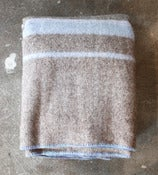 Image of Stripe Wool Blanket