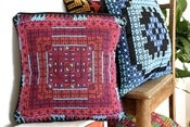 Image of BOHO Embroidered Cushion - Olvo