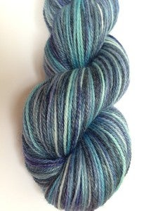 "Image of ""Nighty night, Princess"" MLP Luna inspired self striping yarn - Bamboo blend - 440yds"
