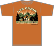 Image of 2013 Log Cabin Wilderness Camp LAAC - T- Shirt - with No Sleeve Print