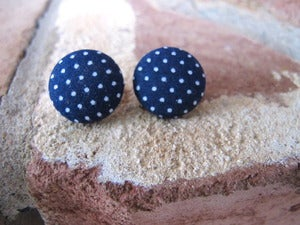 Image of Polka Dot Button Earring Collection 2