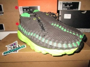 "Image of Air Footscape Woven Chukka ""Midnight Fog/Poison Green"""
