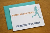 Image of Runners are Freakish Card