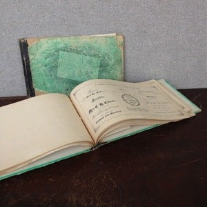 Image of Vintage Lettering & Engraving Books