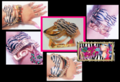 Image of ♥Zebra BowCandy SeT♥