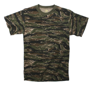 Image of Rothco Tiger Stripe Camo Tee