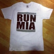 "Image of Mens ""WHITE HOT"" RUN MIA Tee"