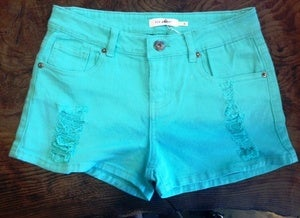 Image of Mint Detroyed Short