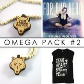 Image of YOUNG WOLVES OMEGA PACK (Bite Into Me Baby) : PRE-ORDER