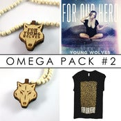 Image of YOUNG WOLVES OMEGA PACK (Wildlings) : PRE-ORDER