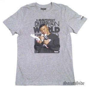 Image of Mike Tyson x Staple - Two Birds Tshirt