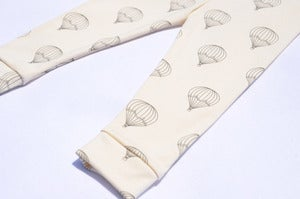 Image of organic cotton hot air balloon leggings- (limited edition)