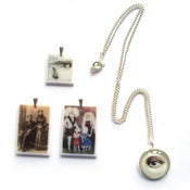 Image of Sale Lot 01: 3 x Curious Pendants + Necklace