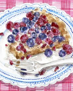 Image of Juicy Berry Tart Giclee Print