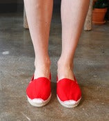 Image of Red Espadrille