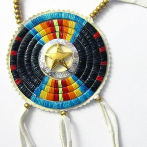 Image of Quilled Star Medallion