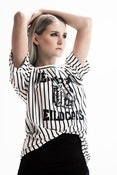 Image of Call me 36 Stripe Tiger Tee